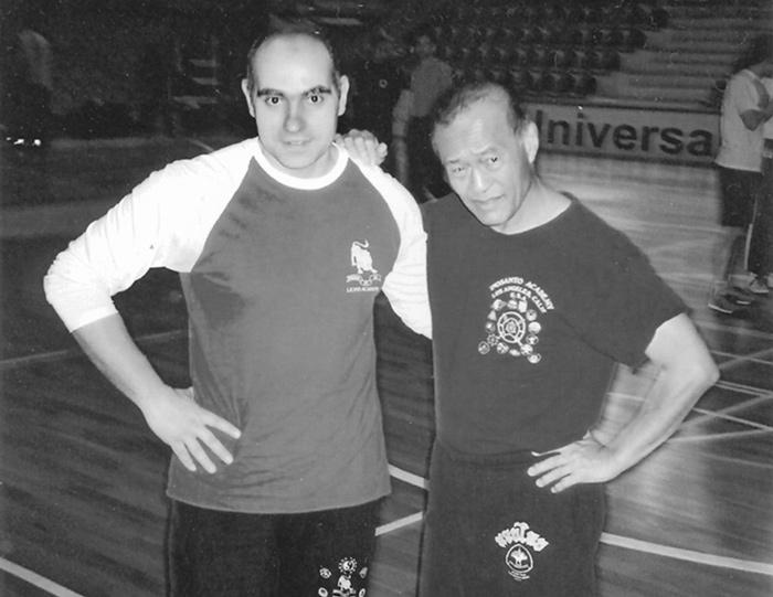 Roberto Castagnini e Dan Inosanto_1