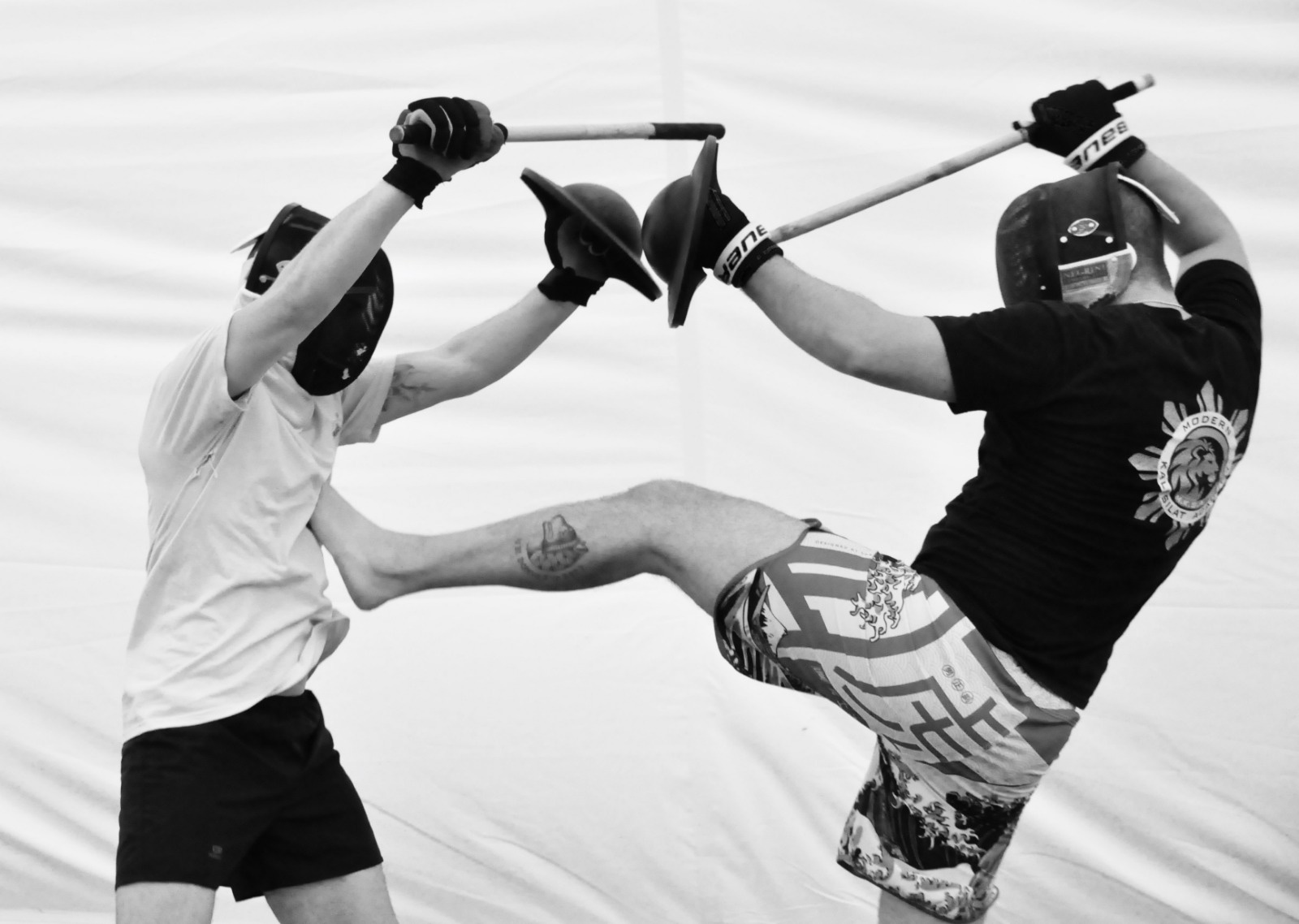 real contact stick fighting