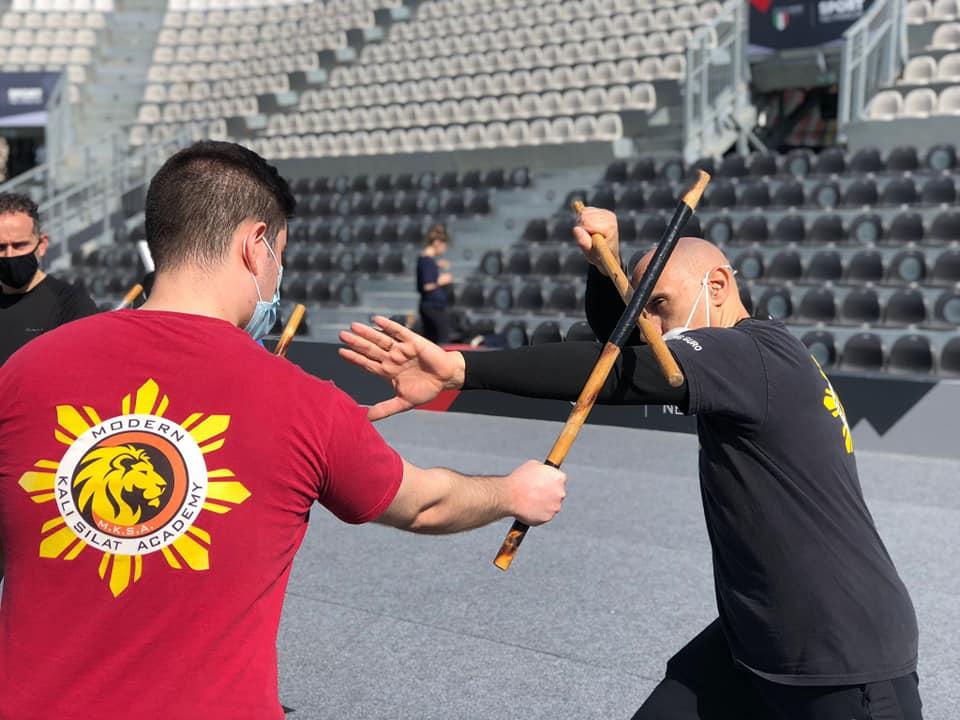 Stage di Kali, Jeet Kune Do e Muay Thai al Foro Italico